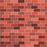 Rode bakstenen muur Royalty-vrije Stock Foto
