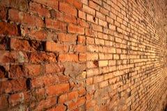 Rode Bakstenen muur Stock Foto
