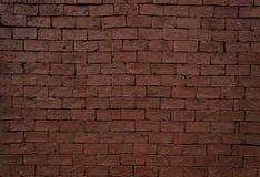 Rode Bakstenen muur stock afbeeldingen