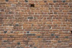 Rode Bakstenen muur Stock Fotografie