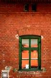 Rode bakstenen muur Stock Foto's