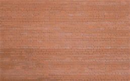 Rode bakstenen muur als achtergrond Vector EPS10 Stock Afbeeldingen