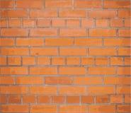 Rode bakstenen muur als achtergrond Vector EPS10 stock illustratie