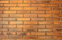 Rode bakstenen muur, bakstenen muur van een gebouw royalty-vrije stock foto's