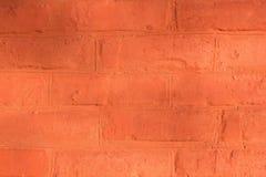 Rode bakstenen muur voor achtergrond of textuur royalty-vrije stock afbeelding