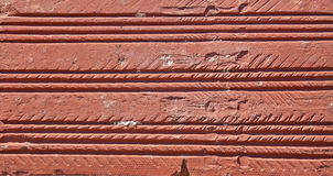 Rode bakstenen muurachtergrond Stock Afbeelding