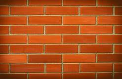 Rode bakstenen muurachtergrond royalty-vrije stock afbeelding