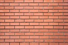 Rode bakstenen muurachtergrond Royalty-vrije Stock Fotografie