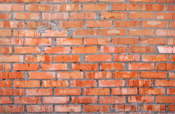 Rode bakstenen muurachtergrond Stock Foto's