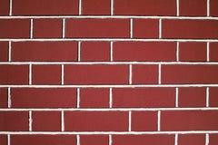 Rode bakstenen muurtextuur Stock Fotografie