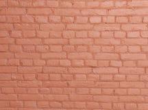 Rode bakstenen muurtextuur Royalty-vrije Stock Afbeeldingen
