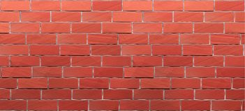 Rode bakstenen muurtextuur royalty-vrije illustratie