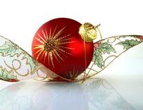 Rode bal. Royalty-vrije Stock Afbeeldingen