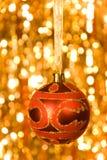 Rode bal Royalty-vrije Stock Afbeeldingen