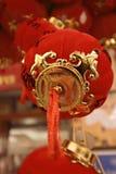 Rode bal Royalty-vrije Stock Foto's