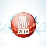 Rode bal voor Veenmolwereldbeker 2015 Royalty-vrije Stock Fotografie