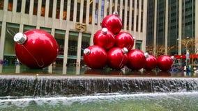 Rode Ballls Royalty-vrije Stock Afbeeldingen