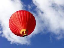 Rode ballon Stock Foto's