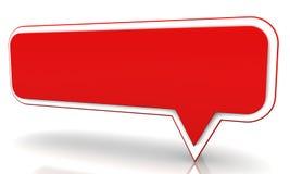 Rode ballon Stock Afbeelding