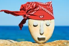 Rode bandana Stock Foto