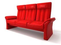 Rode bank vector illustratie