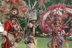 Rode Batik Stock Afbeeldingen