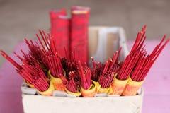 Rode Bedieningshendels Stock Fotografie