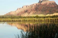 Rode Berg Arizona Stock Fotografie