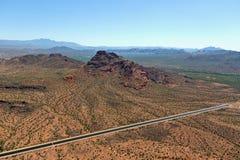 Rode Berg Mesa stock afbeelding