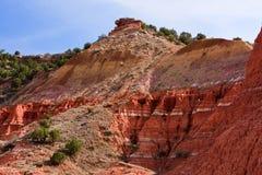 Rode bergen Royalty-vrije Stock Fotografie