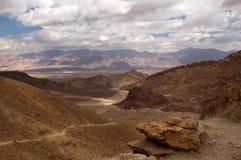 Rode bergen van Eilat Stock Foto's