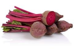 Rode bietwortel Stock Foto's