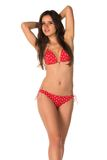 Rode bikini Royalty-vrije Stock Afbeelding