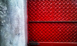 Rode bladdeur Royalty-vrije Stock Foto