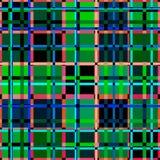 Rode blauwgroene achtergrond stock illustratie