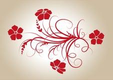 Rode Bloemen Stock Fotografie