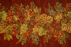 Rode bloemenachtergrond Royalty-vrije Stock Fotografie