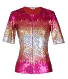Rode blouse Royalty-vrije Stock Foto