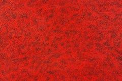 Rode boekachtergrond Stock Fotografie