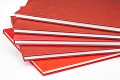 Rode Boeken Royalty-vrije Stock Foto's
