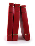 Rode Boeken Stock Foto
