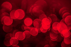 Rode bokeh Stock Afbeeldingen