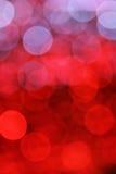 Rode bokehachtergrond Stock Foto