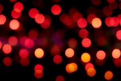 Rode bokehachtergronden Stock Fotografie