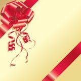 Rode boog Royalty-vrije Stock Foto's