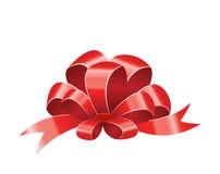 Rode boog Royalty-vrije Stock Afbeeldingen
