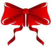 Rode Boog Royalty-vrije Stock Afbeelding