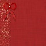 Rode boog en mooie achtergrond Royalty-vrije Stock Afbeeldingen