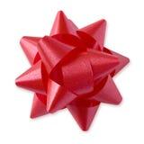 Rode Boog (weg +clipping) Stock Foto