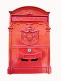 Rode brievenbus Royalty-vrije Stock Foto